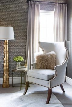 Click to see the super stylish redesign Kaley Cuoco gave her house - you'll die for it if you love neutral, metallic accents and glam-meets-modern vibes.