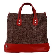 Eye Candy Bag Red Brown
