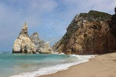 Praia da Ursa, remote beach in Portugal, near Lisbon