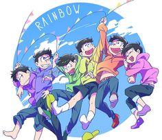 おそ松さん Osomatsu-san レインボー Rainbow