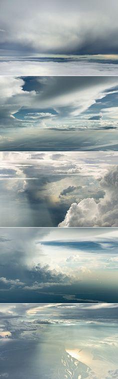 Photos nébuleuses par Rudiger Nehmzow