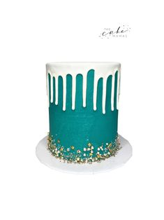 Call or email to order your celebration cake today. Click the link below for more information. Blue Drip Cake, Cakes Today, Cupcake Wars, Drip Cakes, Celebration Cakes, Tiffany Blue, Custom Cakes, Olives, Dessert Table