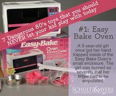 Dangerous 80's Toys: Easy Bake Oven