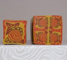 Polymer Clay Autumn Canes | Flickr - Photo Sharing!