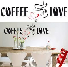 Coffee Love 26 Wall Stickers Wall Decal at AllPosters.com