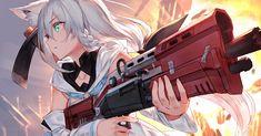 Show Manga And Anime Drawing Styles Anime Neko, Kawaii Anime Girl, Anime Guys, Manga Anime, Anime Wolf Girl, Anime Art Girl, Anime Illustration, Character Art, Character Design