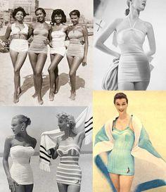 1950 swimsuit