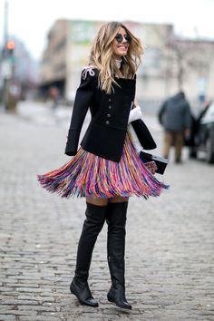 New York Fashion Week Street Style Fall 2016 New York Street Style, Street Style Chic, Street Style 2016, Autumn Street Style, Plaid Fashion, Look Fashion, Fashion Outfits, Fashion Trends, Street Fashion