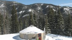 Cozy Up in a Colorado Yurt: 5 Unique Backcountry Stays: Backcountry camping with a bed