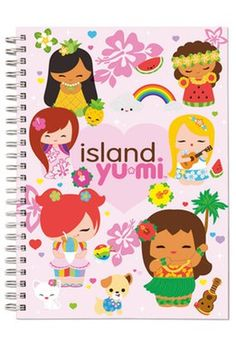 Hawaiian Journal Island Yumi Pink
