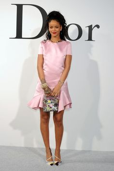 Rihanna Rihanna attends the Christian Dior Cruise 2015 Show on May 7, 2014 in Brooklyn, New York City.