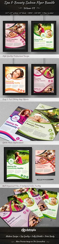 Spa Beauty Roll Up Banner Banner template, Banners and Spa - hair salon flyer template