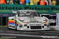 Porsche 935 K3 Kremer Apple #71 24H Le Mans 1980