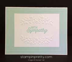 Stampin Up Flourishing Phrases Sympathy cards ideas-Mary Fish stampinup