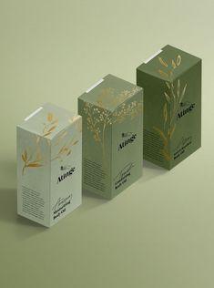 New in portfolio: atinge – cocorrina skincare packaging, tea packaging, beauty packaging, Packaging Box Design, Cool Packaging, Tea Packaging, Brand Packaging, Label Design, Package Design, Design Design, Skincare Packaging, Cosmetic Packaging