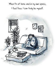 7 vignette spiegano il comportamento delle persone introverse