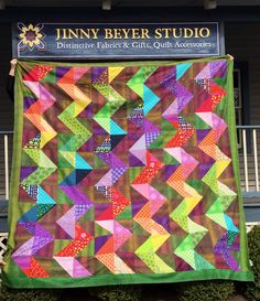 Quilting Patterns, Quilting Ideas, Bargello Quilts, Purple Quilts, Fabric Gifts, Show And Tell, Inspiration, Design, Scrappy Quilts
