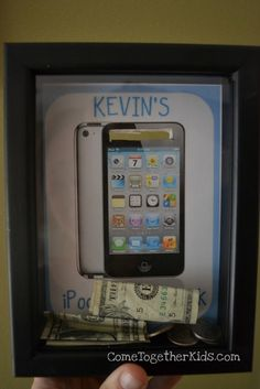 Shadowbox Banks (to save for something special) - gonna have to do this for my dream dSLR camera! :)