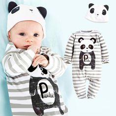 Macacão de Bebê recém-nascido Bonito Animais Bodysuit Roupas de Marca Menino Unisex Do Bebê Traje Infantil Macacões de Manga Longa Meninas Do Bebê Roupas