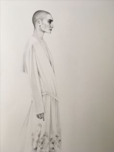 Sinead O'Connor pencil drawing from The Muse Illustrations. For RoryWilliamDocherty Part Agnus Dei Pencil Drawings, My Drawings, Muse, Illustrations, Statue, Creative, Art, Art Background, Illustration