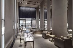 Peter Marino Opens Hublot Flagship Store at Fifth Avenue in New York | See more articles at http://www.delightfull.eu/en/news/