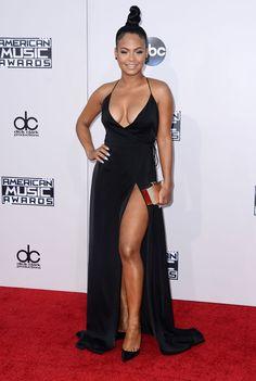 American Music Awards 2015 : les looks du tapis rouge Christina Milian, Beautiful African Women, Beautiful Black Women, Vanity Fair, Sexy Older Women, Sexy Women, American Music Awards 2015, Portraits, Famous Women