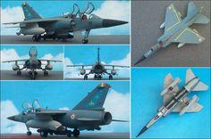 """Dassault-Breguet """"Mirage F-1C"""" Kampfflugzeug (Hasegawa 605) 1:72"""