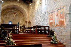 Abbazia eremo di S. Ruffino interni della Chiesa #marcafermana #amandola #fermo #marche