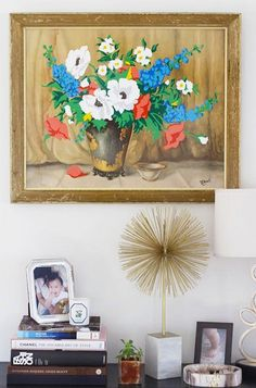 Upcycled Thrift Store Finds - Big Wall Art Ideas - Photos