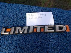 Subaru Legacy Outback Gold Fender Liftgate Trunk emblem nameplate logo badge  F7 #Subaru