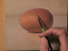 Watch An Artist Crack An Egg With Paint  by Jenni Chasteen
