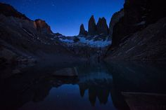 Patagonian Nights - Patagonian nights filled with cold air and countless stars.  www.doruoprisan.com