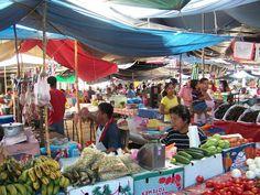 Market in small community in Veracruz MX