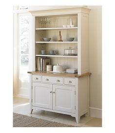 Cottage Oak and Painted Welsh dresser- lush