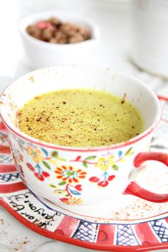 who can resist a recipe with a name like { Golden Milk } this lovely, fragrant and colorful drink is so creamy and yummy and healthy at the same time.. and { my healthy daughter Kathryn recommended…