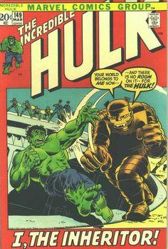 Incredible Hulk # 149 by Herb Trimpe & John Severin