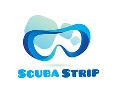 #logo Scuba Strip Logo design