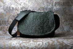 Leather Camera Bag   Cow Hair Acid Etched Leather by PorteenGear, $150.00