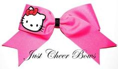 Hello Kitty Cheer Bow. Oh gosh Kenna. You know me to well. You pinned it cuz you knew I would repin it. You have psychic powers. Congratulations.