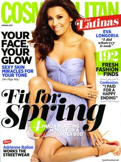 @Cosmopolitan for Latinas Eva Longoria manicure by Debbie Leavitt @Sheswai Lacquer Lacquer Lacquer