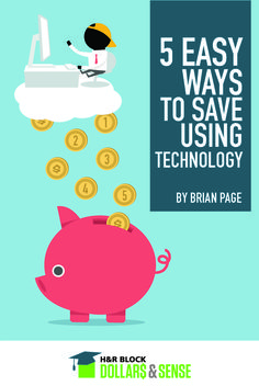 5 Easy Ways to Save Money Using Technology by Brian Page, #teacher & personal #finance adviser