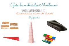PEQUEfelicidad: GUÍA DE MATERIALES MONTESSORI: MATERIALES SENSORIALES (I)