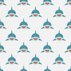 Cute Shark, Baby Shark, New Wallpaper, Wallpaper Backgrounds, Arrow Fabric, Shark Art, Stingrays, Kid N Teenagers, Silhouette Art