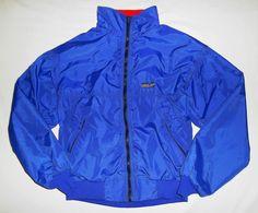 Patagonia Men's Capilene Winter Jacket Lined S Adventure Travel Royal Blue MINT #Patagonia #CoatsJackets