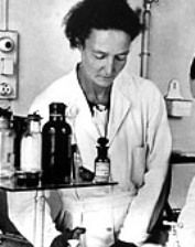 irene curie was the 2nd woman to win the nobel prize in science, the lst woman was her mother marie curie