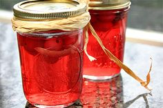 DIY Cranberry and Orange Vodka | Ezra Pound Cake. A great gourmet Christmas gift. Hello, Cranberry-Orange Cosmos.