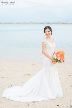 Exquisite Mermaid Bridal Gown | Photo: Manny and April Photography