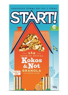 Start! Cereal on Packaging of the World - Creative Package Design Gallery
