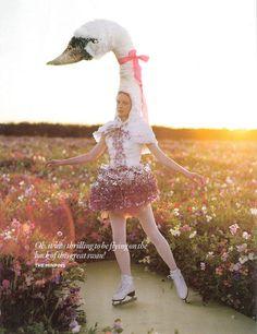 Tales of Unexpected, британский Vogue, декабрь 2008