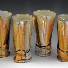 Tall Tumblers - MaashaClay Pottery